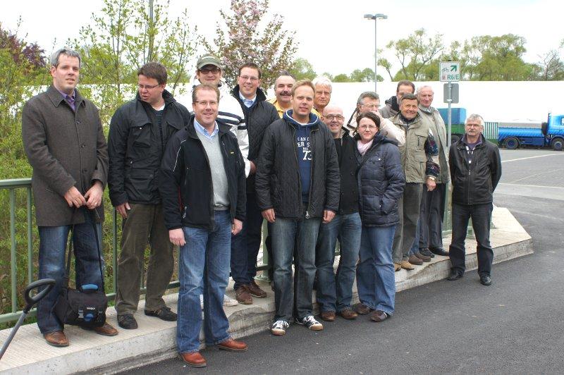 Die Teilnehmer des 2. Frankenberger Stadtspazierganges der CDU